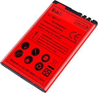 Long Life 1800mAh Replace Extended Slim BL-5J Battery for Nokia Lumia 521 Cellphone