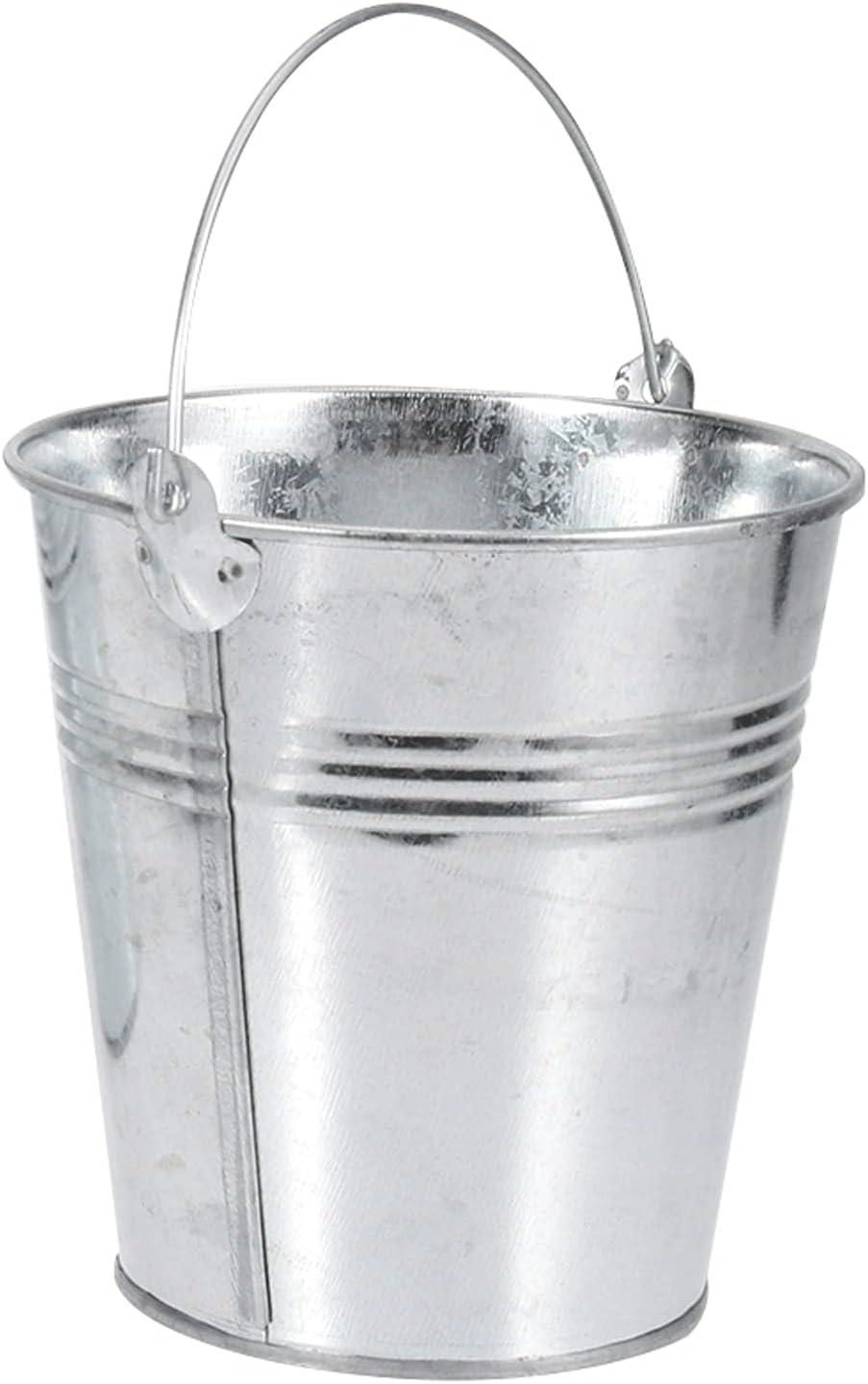 Superlatite 1pcs Ice Bucket NEW Tin Pails Metal Fries Pa Tinplate French