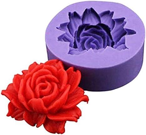 3D Flower Silicone Fondant Mold Cake Decorating Chocolate Sugarcraft Mold FG