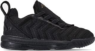 Nike Lebron XVI (td) Toddler Aq2468-007 Size 9 Black/Metallic Gold