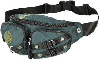 Vanlison Fanny Pack, Waist Bag, Sling Bag, Water Resistant Running Bag Hiking Bag