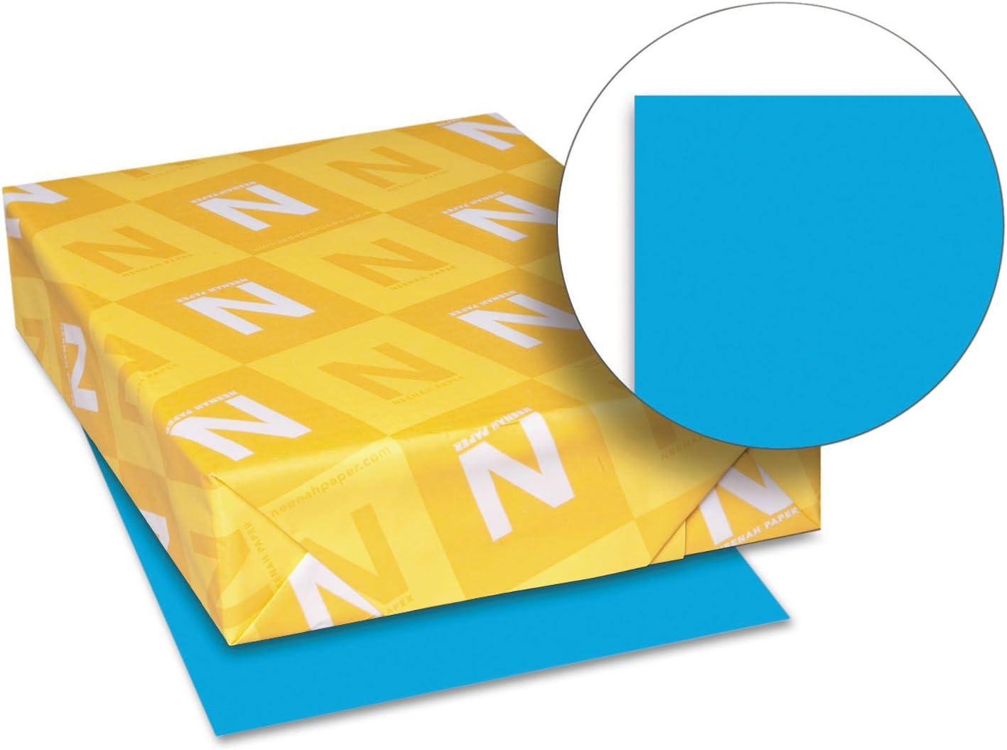 Neenah Paper 22861 Color service Cardstock 65lb 1 11 2 x 8 Mesa Mall Celestial