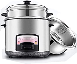 Rijstkoker (2 liter/400 W/220 V), intelligente isolatie, multifunctionele roestvrijstalen binnenpan, lepel, stoom- en maat...