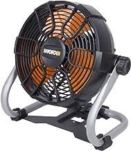 WORX WX095.9 ventilator 20 V (S/Bat), 20 V, zwart/oranje