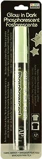 قلم تحديد بطرف رفيع من نسيج مارفي ديكو 222-C-GO من Uchida، يتوهج في الظلام