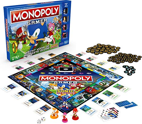Buy Monopoly Gamer Sonic The Hedgehog Edition Board Game For Kids Ages 8 Up Sonic Video Gamer Themed Board Game Toys R Us