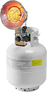 COSTWAY 15,000 BTU Propane Tank Top Heater, Portable Outdoor Camping Deluxe Bulk Tank Infared Heater (Propane Cylinder not Included), w/Safety Shut-off Valve and Tip-over Switch, CSA Certification
