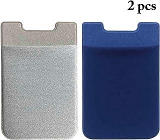 COAFIT 2PCS Phone Card Holder Back Adhesive Phone Card Wallet Credit Card Holder