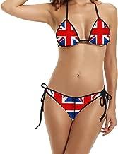 Hotgirl4 Women Fashion Flag Of The United Kingdom Bikini Two Piece Tankini Black 1 Size