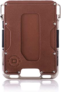 Dango M2 Maverick Wallet - Nickel-Plated CNC-Machined Aluminum, RFID Blocking, Made in USA