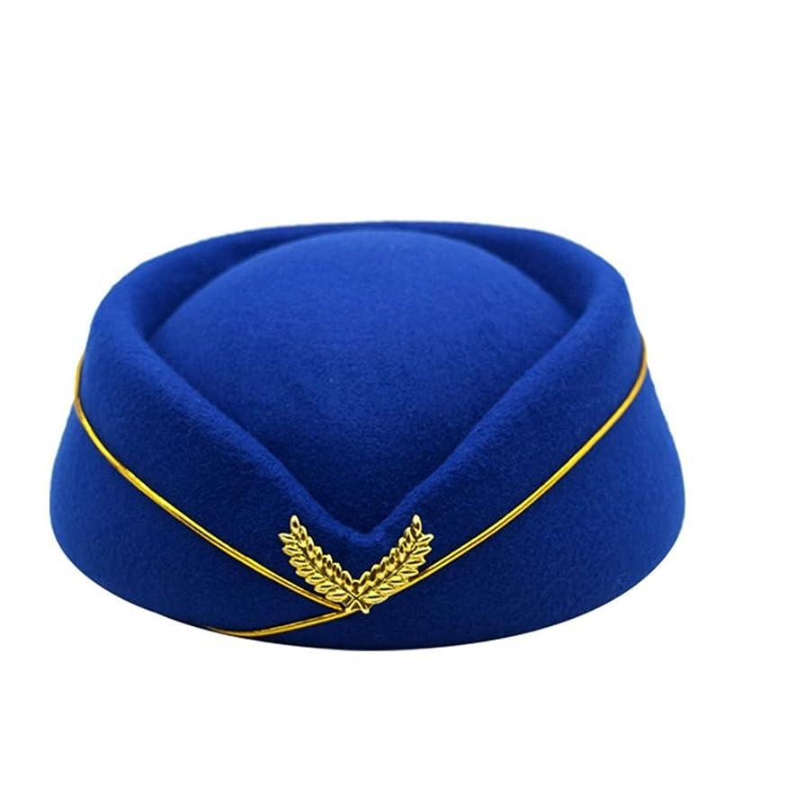 考慮に賛成列挙するYueLian レディース ヘアピン帽子 スチュワーデス帽子 アクセサリー コスプレ 髪飾り エレガント