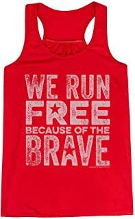 We Run Free Flowy Racerback Tank Top | Running Tanks Multiple Colors | Multiple Sizes