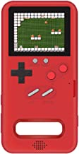 Teepao Gameboy Case for Samsung S10, Retro 3D Phone Case Game Console with 36 Classic Game, Full Color Display Shockproof Video Game Cover Case, Playable Gameboy Case for Samsung S10, Red