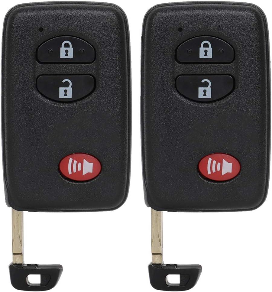 SELEAD Flip Key Fob 3 Great interest Buttons fit Finally popular brand 2008-2013 Keyless Remote Entry