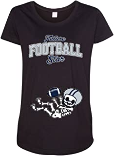 Future Football Star Dallas Baby Skeleton Maternity DT T-Shirt Tee