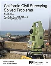 California Civil Surveying Solved Problems