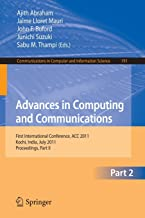 Advances in Computing and Communications, Part II: First International Conference, ACC 2011, Kochi, India, July 22-24, 201...
