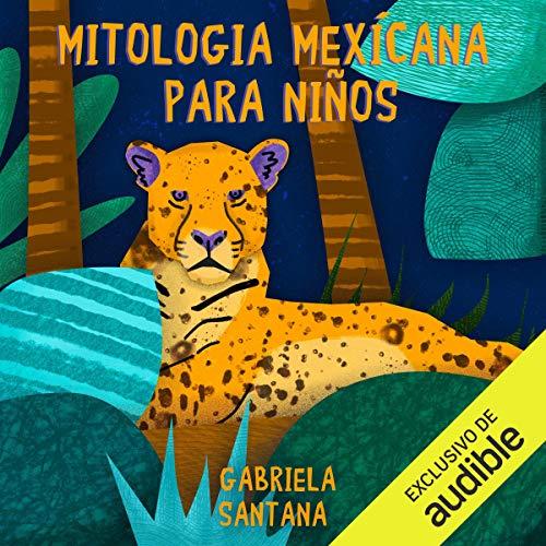 Diseño de la portada del título Mitología mexicana para niños