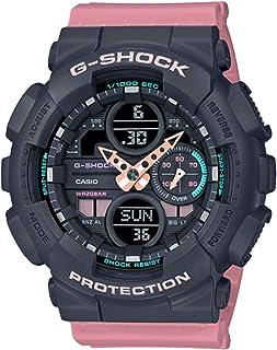 Ladies' Casio G-Shock S-Series Pink Resin Band Watch GMAS140-4A