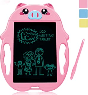 Mycaron Girl Toys for 3-6 Year Old Girls Gifts,LCD Doodle Board Drawing Board for Little Girl Educational Birthday Gifts as Girls Toys Age 3 -6 ,Better Than Magnetic Doodle Board SLHFPX