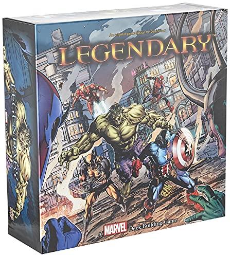 ADC Blackfire Entertainment UD80366 - Legendary: A Marvel Deck Building Game - Englisch, Kartenspiel