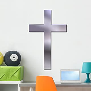 Wallmonkeys Christian Cross Wall Decal Peel and Stick Graphics (36 in H x 27 in W) WM199407
