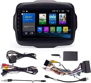 Semoic 10,1 Pouces Android 8.1 Quad Core 2 Din Radio St/éR/éO de Voiture Presse GPS WiFi Lecteur MP5 16G avec Cam/éRa