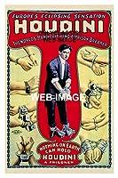 1906ハリーフーディーニエスケープポスターマジシャン11 x 17平行輸入