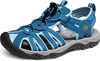 Women's Sports Sandals Trail Outdoor Water Shoes 3Layer Toecap
