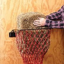 Tough-1 Hay Hoops Alimentador de pared plegable original con red B