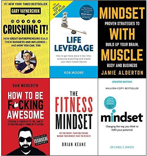 Crushing it gary vaynerchuk life leverage mindset with muscle how to be fucking awesome fitness product image