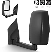 For 2003-17 Chevy Express 1500/2500/3500 + GMC Savana 1500/2500/3500 Van Manual Towing Driver Side Only Mirror Assembly