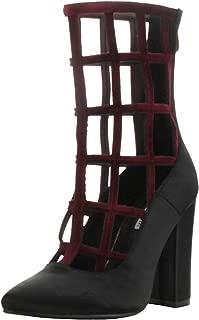 caged chunky heels