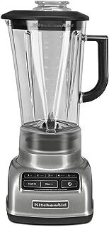 KitchenAid KSB1575CU 5-Speed Diamond Blender with 60-Ounce BPA-Free Pitcher - Contour Silver