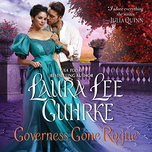 Governess Gone Rogue audiobook cover art