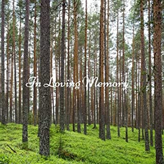 In Loving Memory: Large Square Design Celebration of Life, Condolence Book, Message Book, Wake, Memorial Service, Church, Funeral Home Guest Book, ... Paperback (Bereavement Gifts) (Volume 9)
