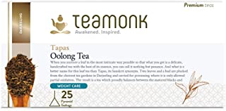 Sponsored Ad - Teamonk Tapas Imperial Himalayan Oolong Tea Bags - 25 Tea Bags | 100% Natural Tea | Oolong Tea for Weight L...