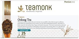 Teamonk Tapas Imperial Himalayan Oolong Tea Bags - 25 Tea Bags | 100% Natural Tea | Oolong Tea for Weight L...