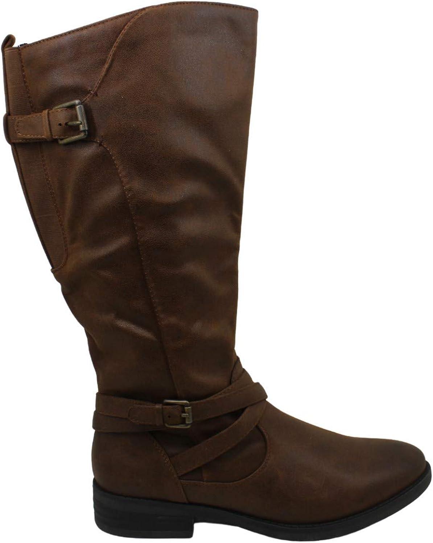 BareTraps Womens Alysha Closed Toe Mid-Calf Fashion Boots