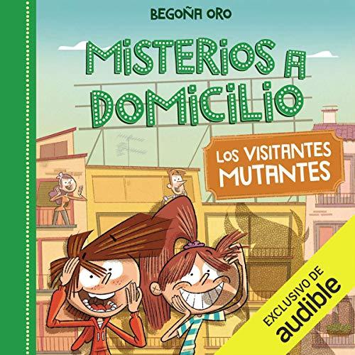 Diseño de la portada del título Visitantes Mutantes