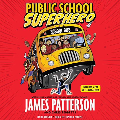 Public School Superhero audiobook cover art