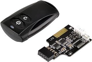 SilverStone 2.4GHzワイヤレス POWER/Resetリモートスイッチ 内部USB9ピンヘッダ接続 SST-ES02-USB 日本正規代理店品