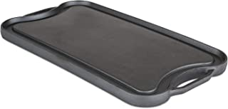 Viking Enamel Cast Iron Reversable Grill and Griddle Pan, 20 Inch