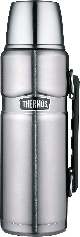 Thermos 4003.205.047 King - Termo (acero inoxidable), acero inoxidable, acero mate, 1,2 L