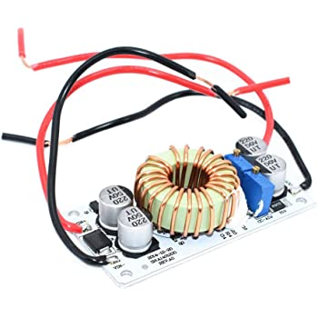 HiLetgo 250W DC-DC Module 10-40V to 10-50V 6A Adjustable Step-Up Power Supply Module 250W DC Booster Constant Voltage Constant Current Power Converter Module