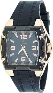 Colmar Cr-98631 Reloj Analogico para Hombre Caja De Metal Esfera Color Negro