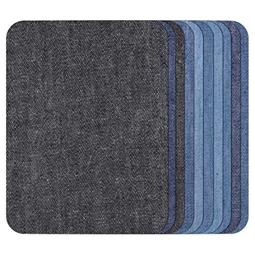 TOOGOO 10 Pcs Thermiques Collant Fer sur La Réparation des Correctifs Jeans Sac Réparation De Chapeau Décor Design