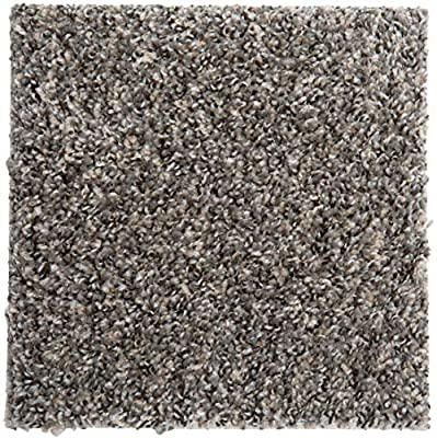 """Smart Squares in A Snap 18"""" x 18"""" Residential Soft Carpet Tile, Peel and Stick, Easy DIY Installation, Seamless Appearance, Made in USA (10 Tiles - 22.5 Sq Ft, 783 Ironside)"""