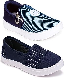 WORLD WEAR FOOTWEAR Women's Multicolor (11031-11058) Casual Sneaker Loafer Shoes