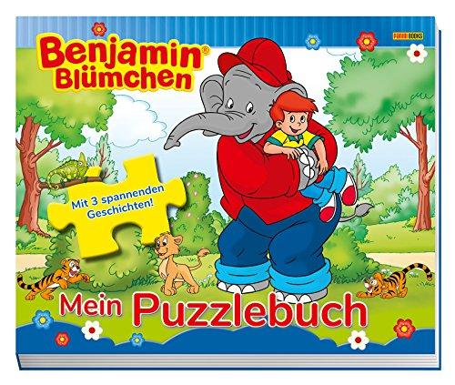 Benjamin Blümchen: Mein Puzzlebuch: Mit 3 spannenden Geschichten